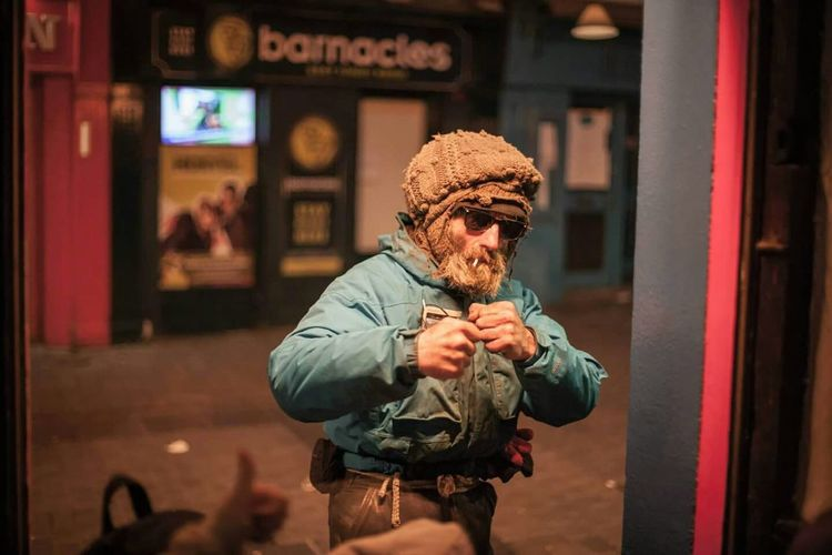 Check This Out Colors Taking Photos Galway Patrick Pádraig Street Photography of a Street Fighter in Galway,ireland The Portraitist