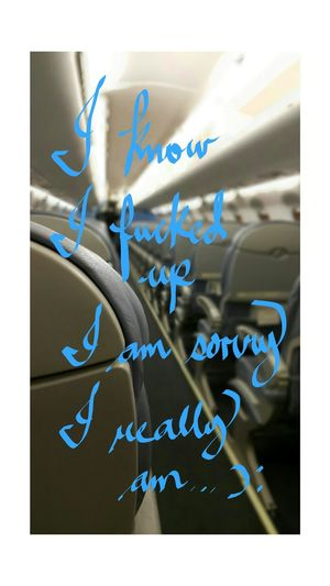 Babi Sorrynote Embraer70 I'm Sorry Saudi Arabia Lifeofaflightattendant