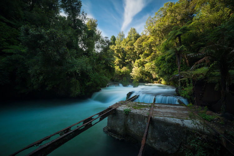 A lovely long exposure photograph of Okere Falls, New Zeanad. Beauty In Nature Flow  Forest Landscape Long Exposure Lush Foliage Lush Vegetation Motion Movement Nature New Zealand Outdoors River Scenics Stream Summer Travel Travel Destinations Water Waterfall Woods