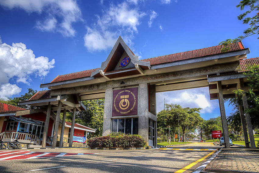 Architecture Building Exterior Built Structure Business Finance And Industry City Cloud - Sky Cultures Day History No People Non-western Script Outdoors Sky Universiti Teknologi Malaysia Utmjb