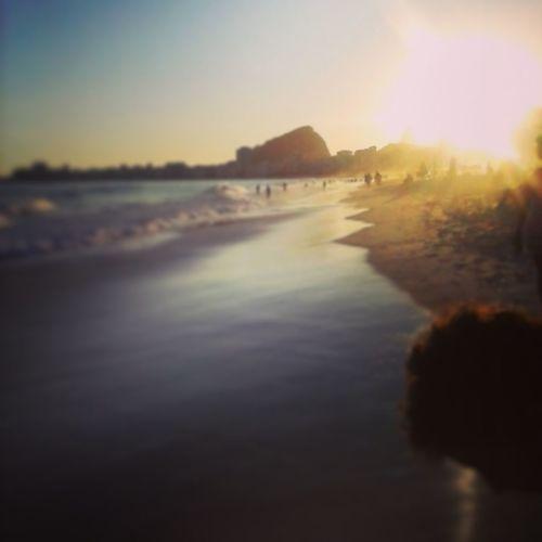 Relaxing Riodejaneiro Enjoying The Sun Sea