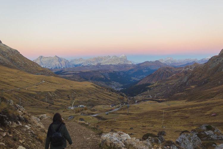 Dolomites blue