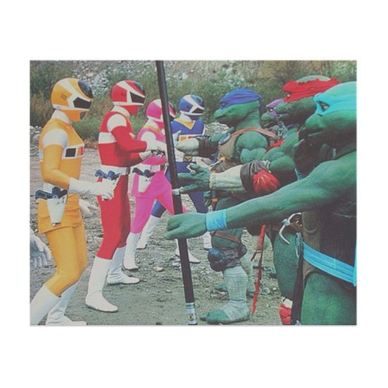 Tnmt Power Rangers The Greatest Moment in History