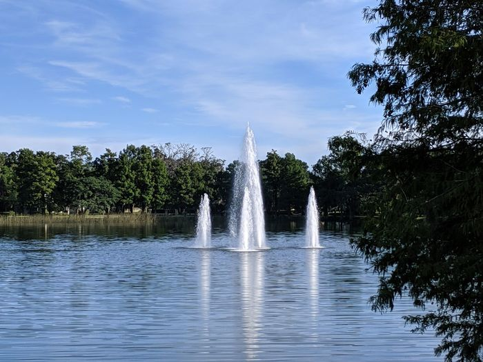 Fountain in the