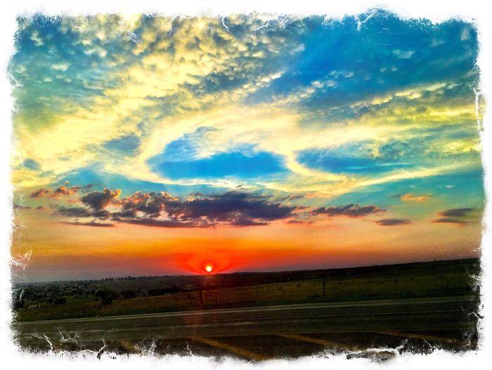 Sunset South Africa Sky Cloud - Sky