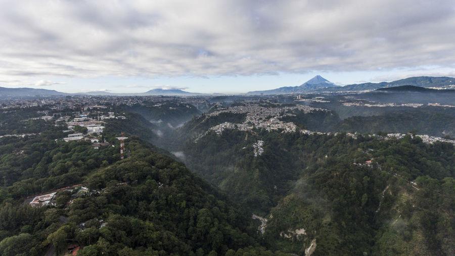 Scenics - Nature Cloud - Sky Mountain Beauty In Nature Sky Mountain Range Nature Tree No People Day Landscape