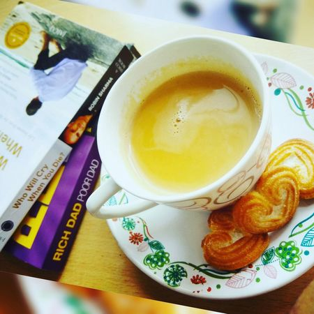 Tea Tea Time No People Books Books And Coffee Little Hearts Morning Coffee