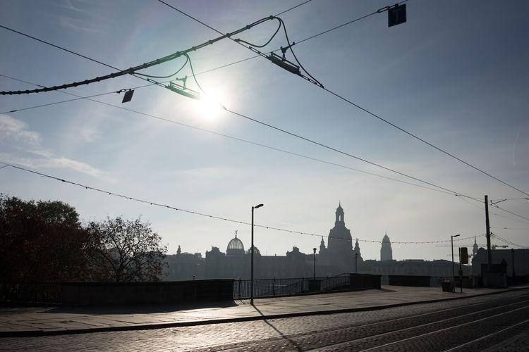 Augustusbridge Augustusbrücke Baroque Dresden Skyline