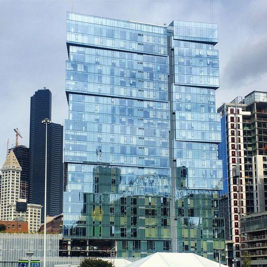 Architecture Building Exterior City Glass City Life Seattle Skyscraper