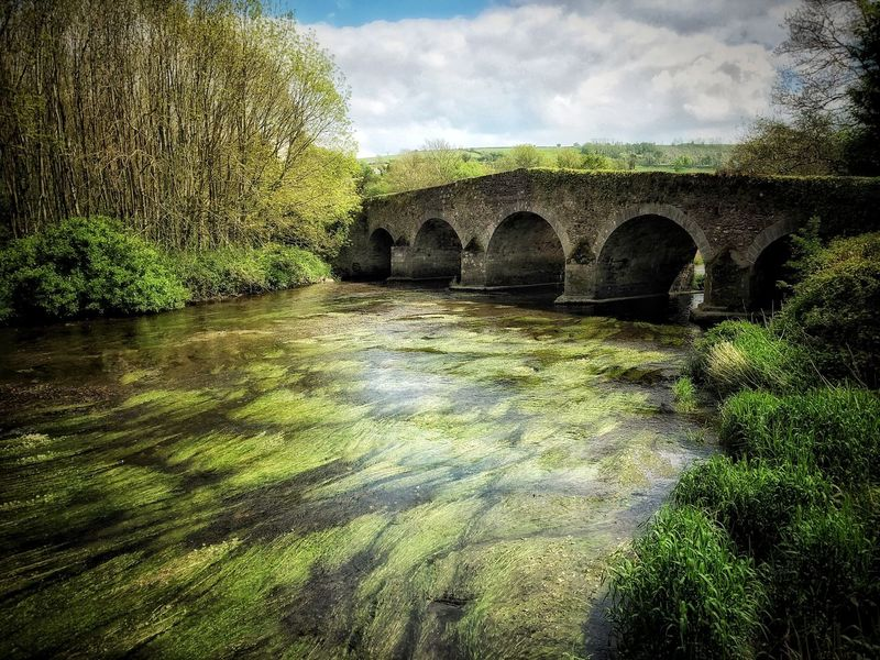 Green Ireland Built Structure Architecture Arch Nature Sky Tree No People Water Outdoors Scenics Bridge - Man Made Structure Day Beauty In Nature Landscape Bridge