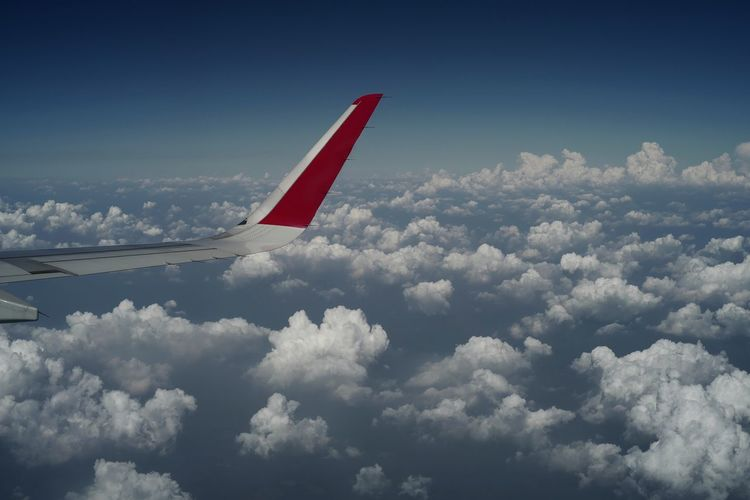 airplane wing in the sky. Trip Journey High Air Atmosphere EyeEm Selects Landscape White Nature Sky Clouds Wing Flight Travel Vacation Holiday Fly Blue Sky On Board Window Seat Airplane Flying RISK Sky Cloud - Sky Aircraft Wing Commercial Airplane Fighter Plane Jet Engine Airplane Wing