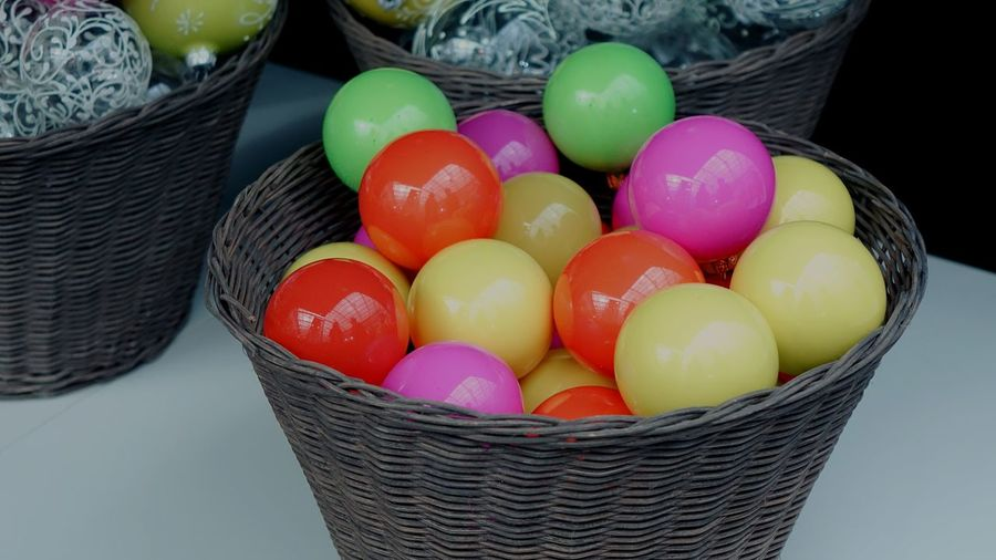 Neon Christmas Decoration Christmas Lights Christmas Ornament Christmastime Christmas Decorations Exhibition Present Bright Colorful Orange Color Yellow Background Market Violet Pink Color Illuminated Christmas Bauble Design Multi Colored Easter Egg Hunt Holiday - Event Celebration Tradition Basket Religion Easter Egg Cultures Candy Candy Store
