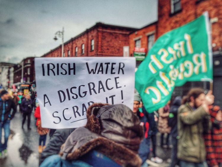 Dublin EyeEm February 2016 Water Charge Saturday Politics