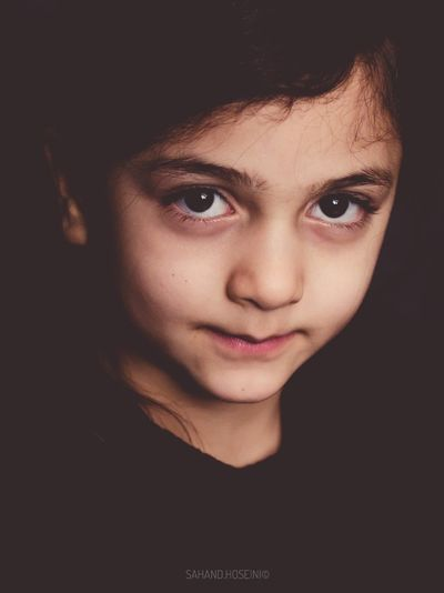 Portrait Looking At Camera Headshot Child One Person Close-up People Childhood Human Face Young Women 100mm Macro 100mm 700D Iran Tehran Canon Portrait Photography Portrait
