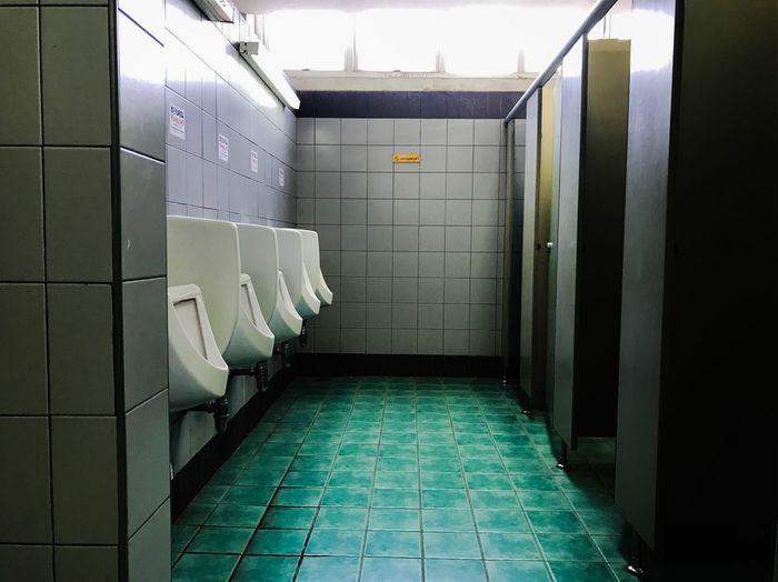 The Secret Spaces Tile Bathroom Public Building Tiled Floor Hygiene Indoors  Tiled Wall Toilet No People Toilet Bowl Day