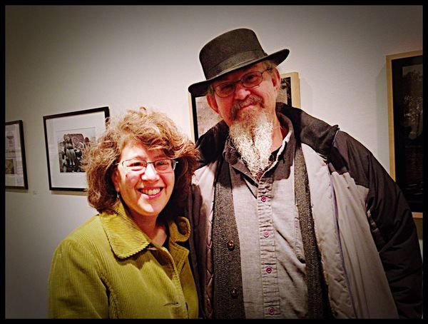 Us at the Photoworks Exhibit tonight Photoworks Great Show