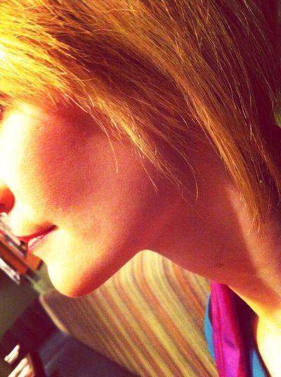 Portrait Of A Woman The Fragile  Blonde