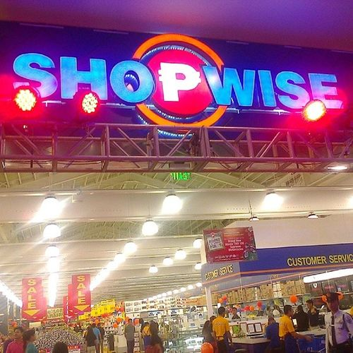 Congrats ShopwiseCDO ! Opening tomorrow at 9am! Come by on the 16th and 17th to get a free Wise Card (save php200!) Thanks everyone, esp ms. @mindanaoan ??