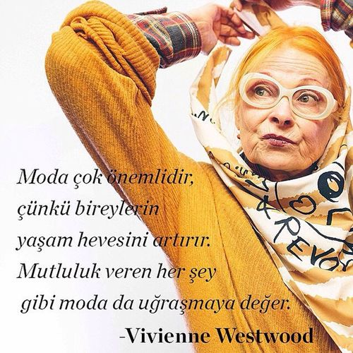 Repost from @marieclairetr Çılgın, aykırı ve zamanın ötesinde! Vivienne Westwood'a kulak verin… Marieclairetr Fashion Blog Style instafashion instastyle instalove instalike like love all_shots tagsforlikes igers moda stil stylish fashionista instablog fashionblog blogger