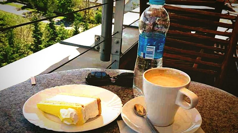 Lemoncheesecake Coffee Break Enjoying Life Relaxing Eating