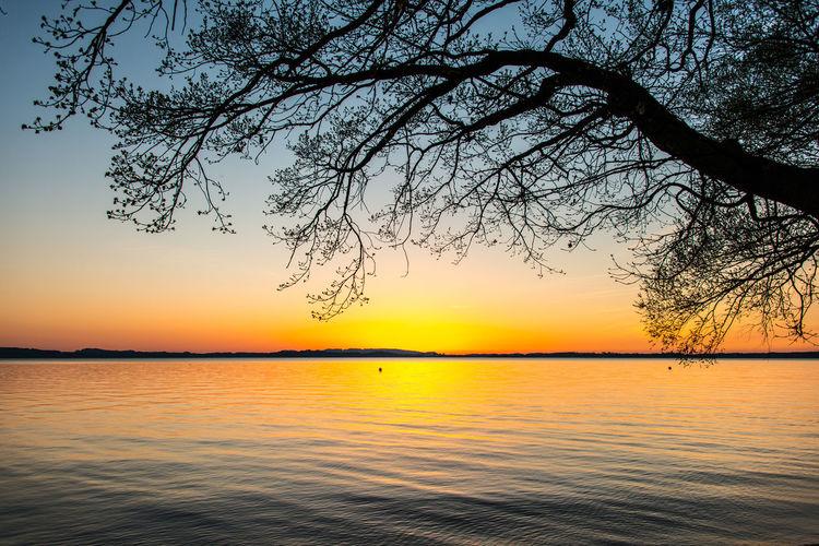 Chiemsee sunset