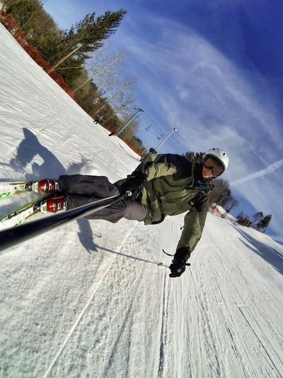Carving Gopro Skiing EyeEm Best Shots That's Me