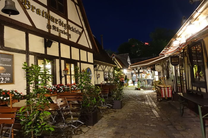 Handwerkerhof In Nürnberg Restaurants Architecture Beautiful Place ♥ Flowers Night No People Outdoors