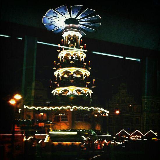 Weihnachstmarkt Pyramids Christmas Christmas Lights