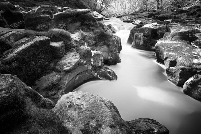 River Wharfe. Long Exposure River Water Waterfall Landscape Nature Outdoors Blackandwhite Black And White Bnw Composition Outdoor Photography Photography Mtphotography Yorkshire BoltonAbbey Nature Photography Landscape_photography Naturelover Landscapes