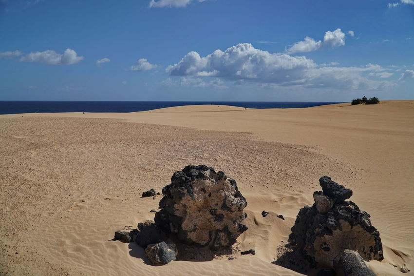 c6 Beach Beauty In Nature Cloud - Sky Corralejo, Fuerteventura Day Desert Horizon Over Water Landscape Nature No People Outdoors Sand Scenics Sea Sky Tranquil Scene Tranquility Water