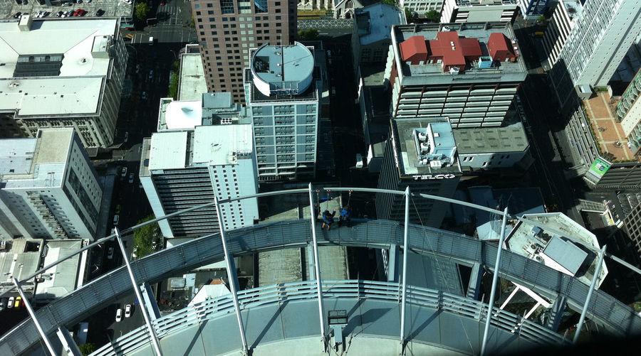 Full frame shot of modern office buildings