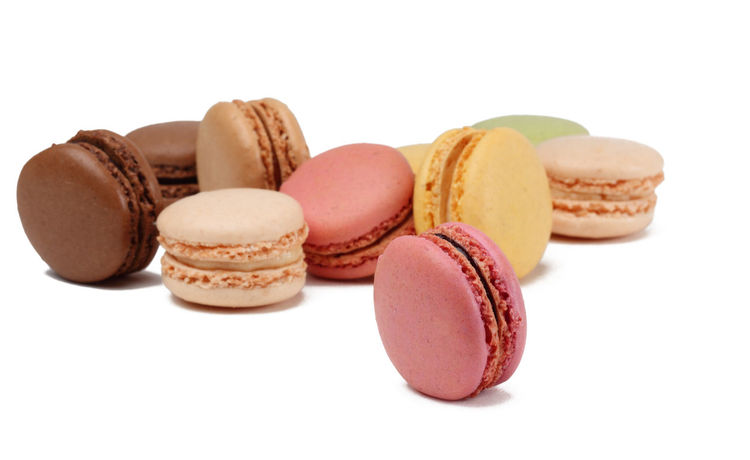 Macarons Dessert French Food Culture Macarons Macaroons Colorful Cut Out On White Dessert Food Food And Drink French Food Freshness Macaroon Plain Background Ready-to-eat Studio Shot Sweet Food Traditional Food White Background