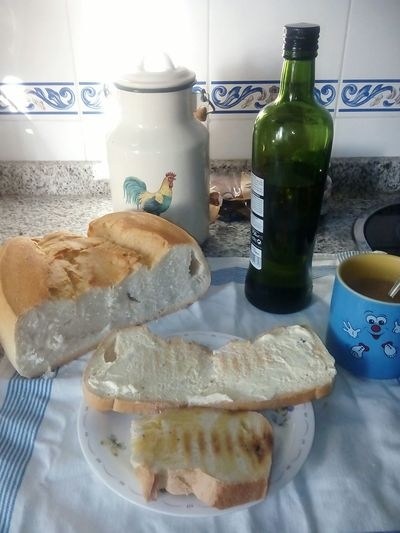 Coffee At Home Breakfast Toast🍞 Olive Oil Bread