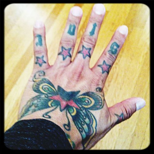 Yes! Studio session in Sonoma is booked to start working on the next new track for my 2nd album AND a tattoo session to take my ink to a whole new level! Don't mind me if I go really REALLY serious with the ink ;) Inked Up L10 Tattoo SF
