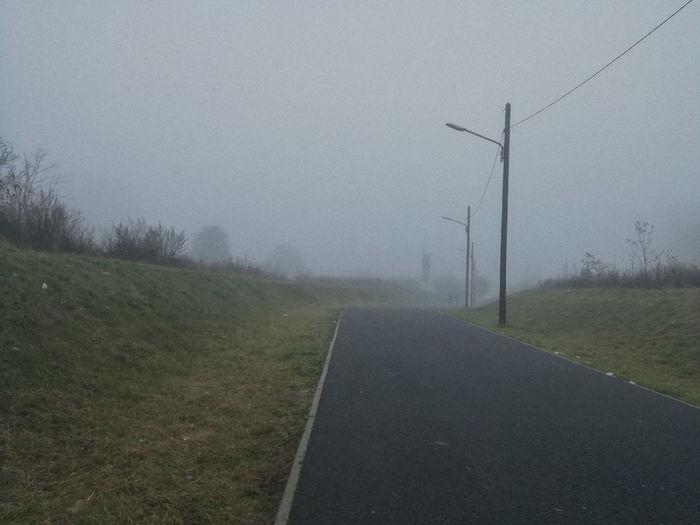 Road Fog Rural
