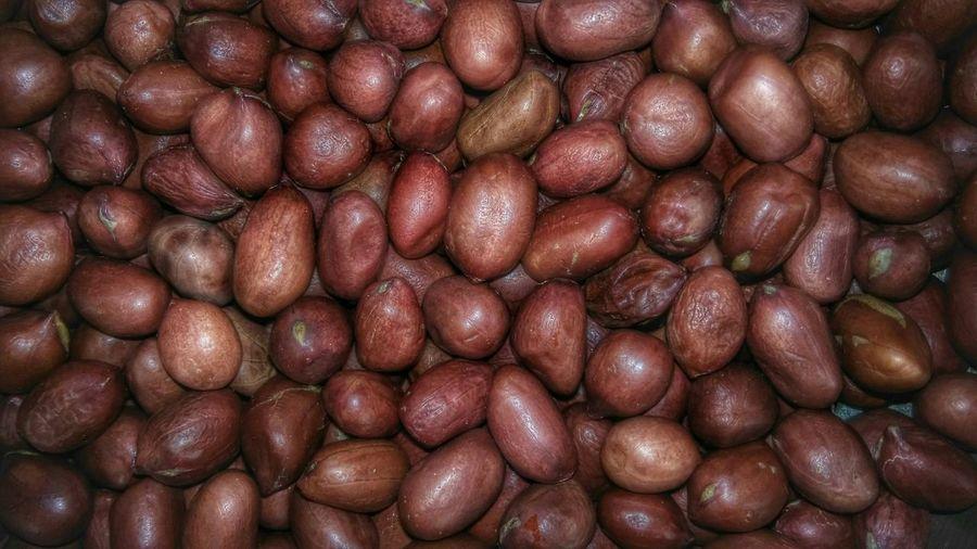 Close-up of peanuts