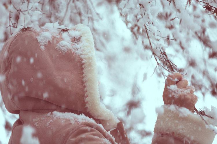 Close-up of snow