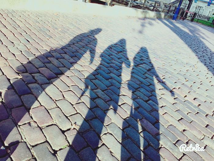 ~ Most of the shadows of this life are caused by our standing in the way of our own sunshine ~ EyeEm Selects The Week On EyeEm No People Travel Destinations Your Ticket To Europe Low Angle View Scenics Silhouette EyeEmNewHere Paving Stone Cobblestone Sunlight High Angle View Outdoors Day Connected By Travel Be. Ready.