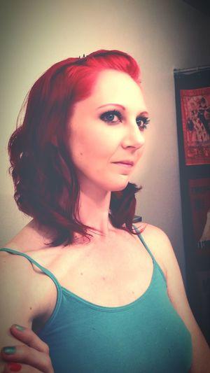 Redheadsdoitbest Buffalo Soldier Redheadgirl Profileportrate Portrait Of Myself Women Of EyeEm Selfportrait
