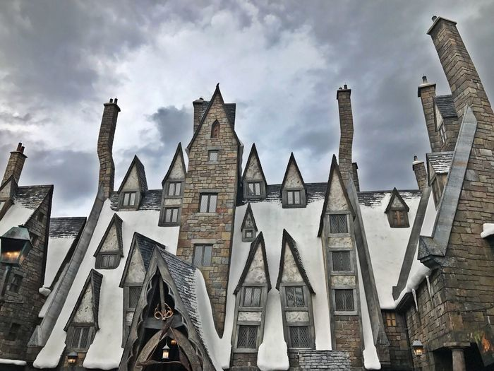 Harry Potter castle Architecture Day Sky Building Exterior universal studios theme parks rides castle