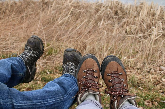 Walking Boots Low Section Friendship Men Human Leg Shoe Women Pair Relaxation Foot Leg Lace - Fastener This Is Family