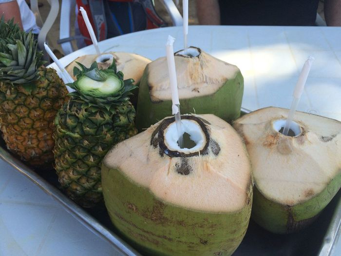 Beachlife Cocktail Coconut Day Food And Drink Freshness Healthy Eating Pineapple Piña Colada