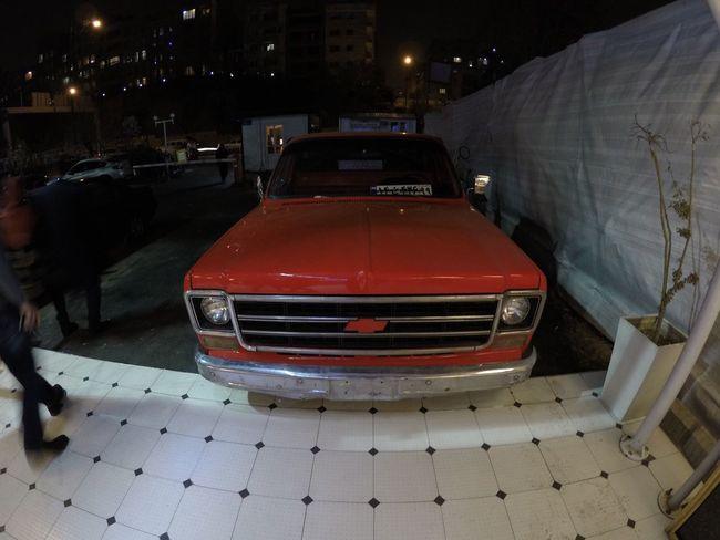 Vatan Iran Tehran Chevrolet City Traveling Old Car Fun No People Night Tourism