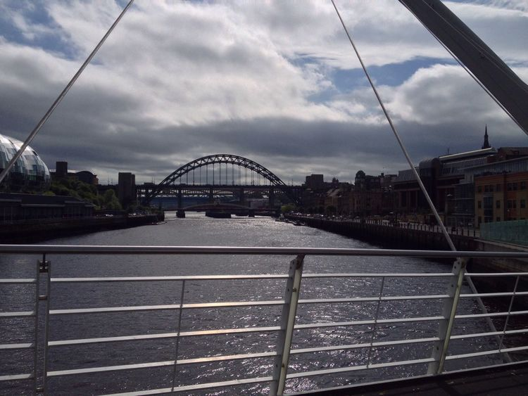 Newcastle Upon Tyne Tynebridge  Rivertyne