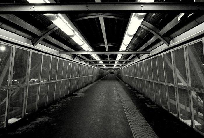 Black And White Street Underground Milano