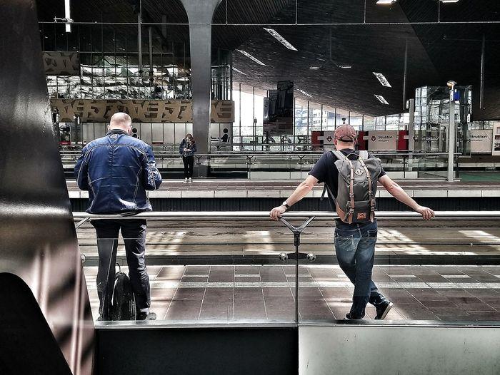 People of the light. People Waiting Rotterdam Full Length Men City Standing Railroad Station Platform Railroad Station Railroad Platform The Traveler - 2018 EyeEm Awards