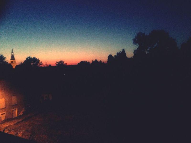 Early Evening Beautiful Sky