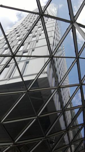 Building Exterior Architektur Wolkenkratzer Architecture Skyscraper Frankfurt Am Main Glass Building