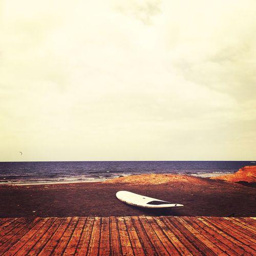 Taking Photos Surfing Board Beach El Médano