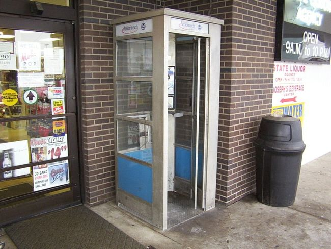 Telephone Booth Payphone